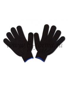 Перчатки ХБ 4 нити 10 класс (черные)