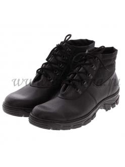 Ботинки мужские 437435 ПУ нат.кожа нестандартных размеров с 48 по 51 размер