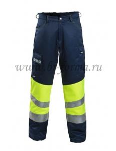 Зимние сигнальные брюки Dimex 6035