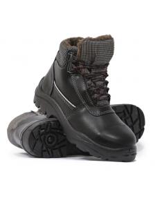 Ботинки Нитро с КП (200Дж)утепленные ПУнитрил/натуральная кожа/шерстяной мех/от -30 до + 300 гр.С