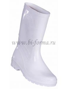 Сапоги мужские ПВХ белые (пищевой, мясомолочной промышленности, медицинских предприятиях)