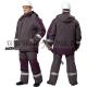 КОСТЮМ мужской ЭКСПЕРТ куртка и брюки. Серый/баклажан. Класс защиты: 2 (III климатический пояс)