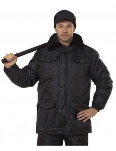 Куртка мужская Охранник черная