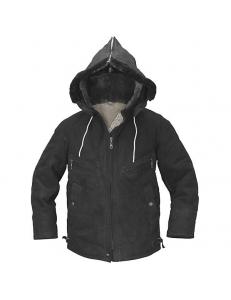 Куртка меховая для летного состава с капюшоном