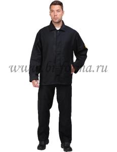 Костюм рабочий жаростойкий с двойным усилением (ткань МОЛЕСКИН)