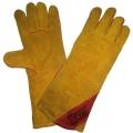 Спилковые перчатки, краги