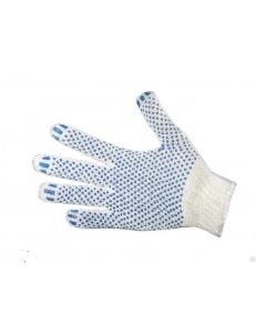 Перчатки ХБ 3 нити 10 класс с ПВХ