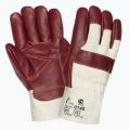 Кожаные комбинированые перчатки