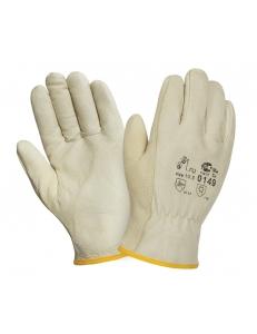 Кожаные перчатки DRIVER 0149