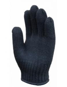 Перчатки полушерстяные 2 вязки (ручной оверлок )