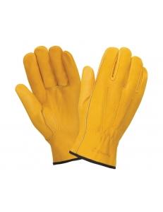 Кожаные перчатки DRIVER RL6