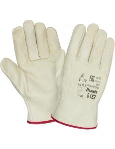 Кожаные перчатки DRIVER 0182