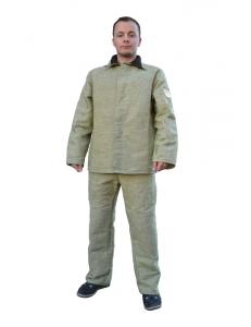Костюм рабочий Сварщика брезентовый (усиленный) куртка/брюки
