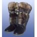 Унты мужские натуральная овчина, юфть КРС, войлок