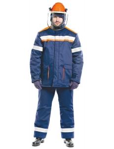 Костюм зимний 60 кал/см2 огнезащитной ткани WORKER