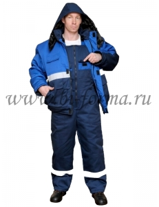 Костюм Новатор куртка/пк (зимний, ткань оксфорд)